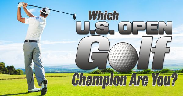 Which U.S. Open Golf Champion Are You?