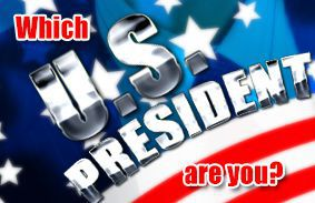 which u .s. president are you