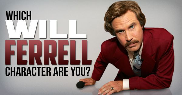 Which Will Ferrell Character Are You?