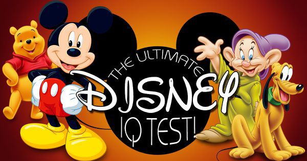The Ultimate Disney IQ Test!