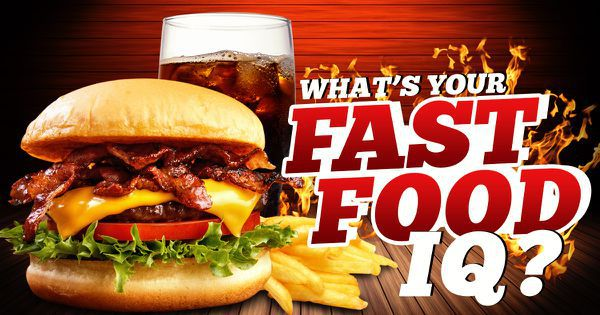 What's Your Fast Food IQ?
