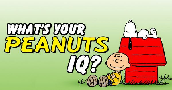 "What's Your ""Peanuts"" IQ?"