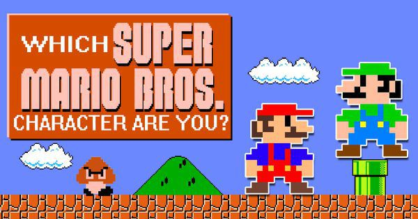Which Super Mario Bros character are you