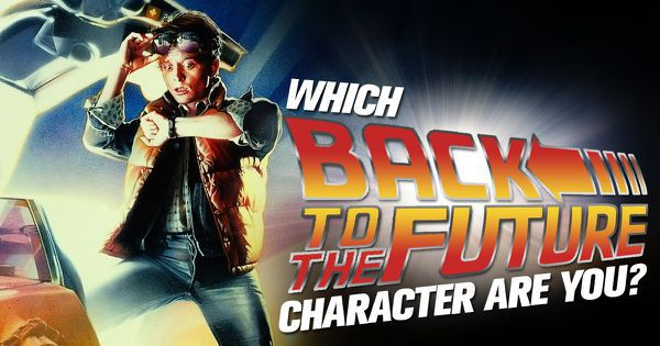 "Which ""Back to the Future"" Character Are You?"