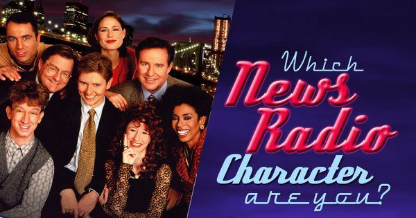 "Which ""NewsRadio"" Character Are You?"