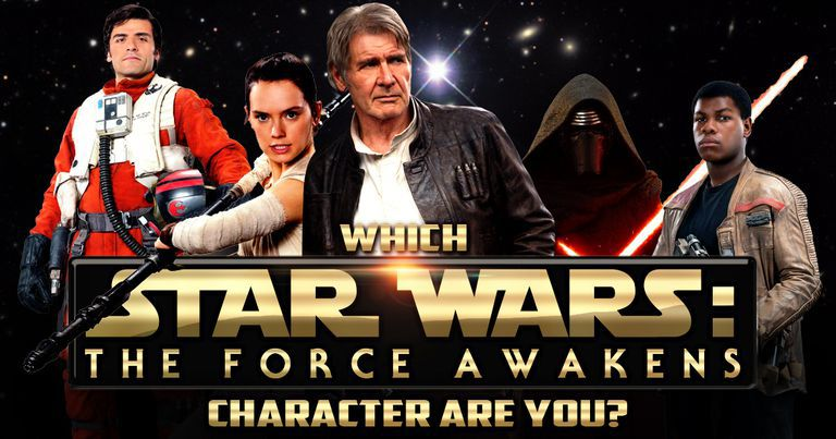 "Which ""Star Wars: The Force Awakens"" Character Are You?"