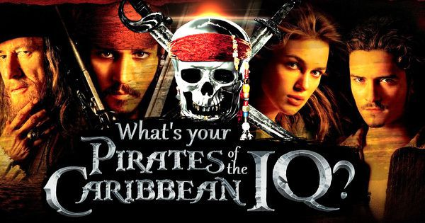 "What's Your ""Pirates of the Caribbean"" IQ?"