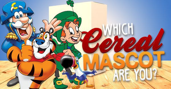 Which of the Cereal Mascots Are You?