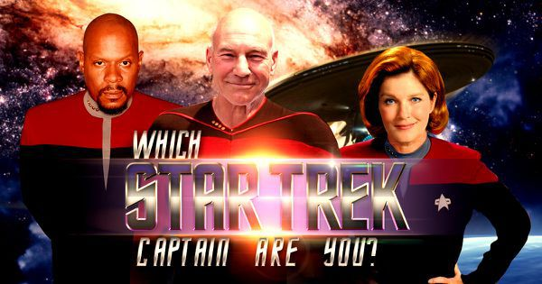 "Which ""Star Trek"" Captain Are You?"