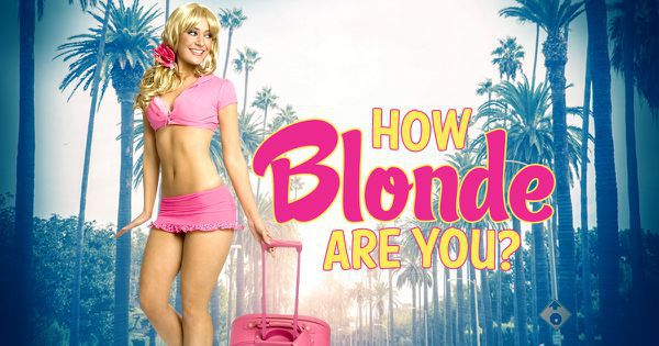 How Blonde Are You?