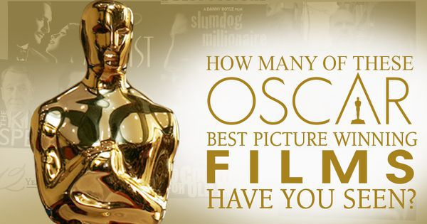 How Many of These Oscar Best Picture Winners Have You Seen?