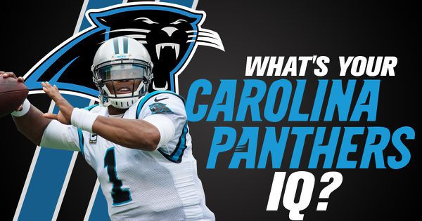 What's Your Carolina Panthers IQ?