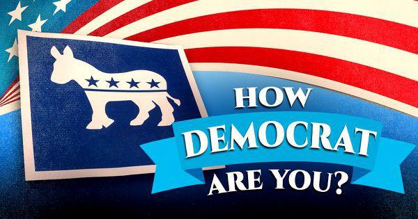 How Democrat Are You?