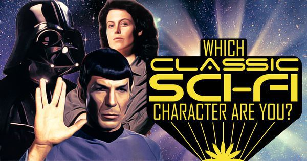 Which Classic Sci-Fi Character Are You?