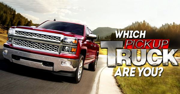 Which Pickup Truck Are You?
