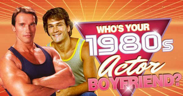 Who's Your 1980s Actor Boyfriend?