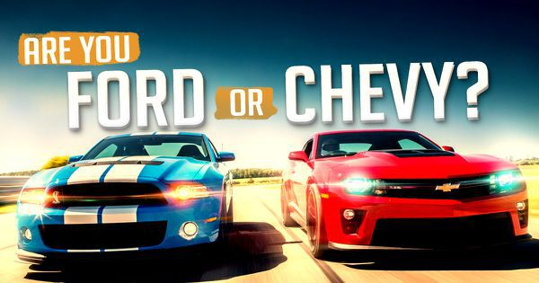 Are You Ford or Chevy?