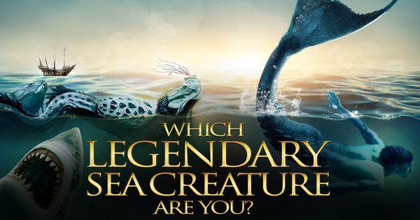 Which Legendary Sea Creature Are You?