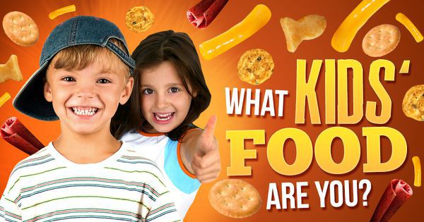 What Kids' Food Are You?