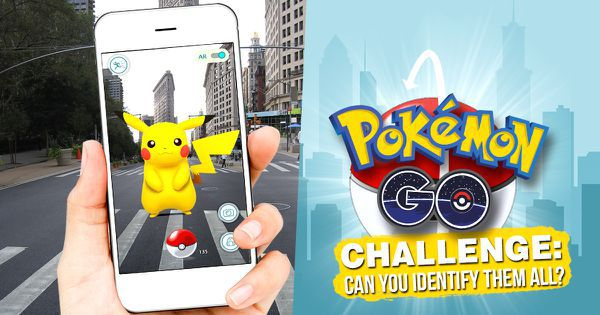 Pokémon GO Challenge: Can You Identify Them All?