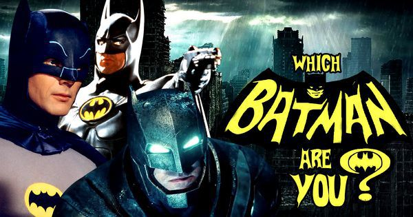 Which Batman Are You?