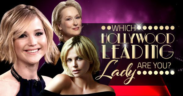 Which Hollywood Leading Lady Are You?