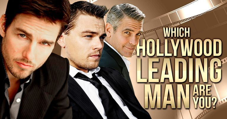 Which Hollywood Leading Man Are You?