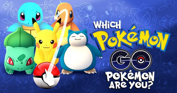 Which Pokémon Go Pokémon Are You?