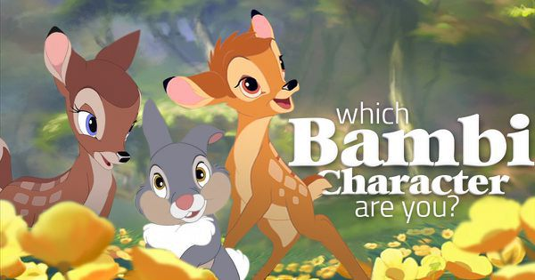 "Which ""Bambi"" Character Are You?"