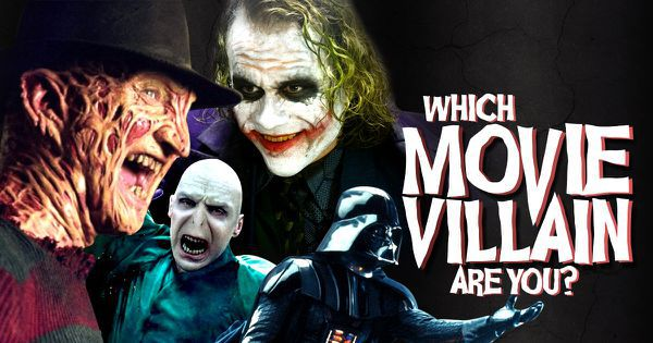 Which Movie Villain Are You?