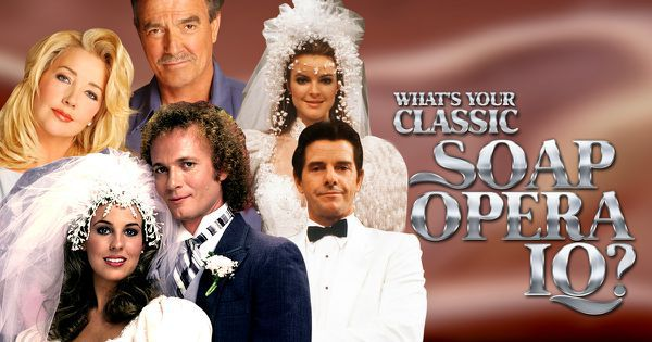 What's Your Classic Soap Opera IQ?