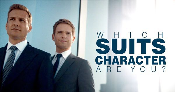 "Which ""Suits"" Character Are You?"