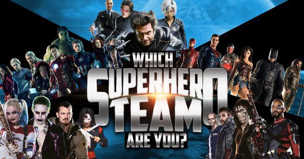 Which Superhero Team Are You?