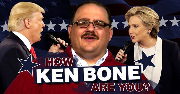 How Ken Bone Are You?