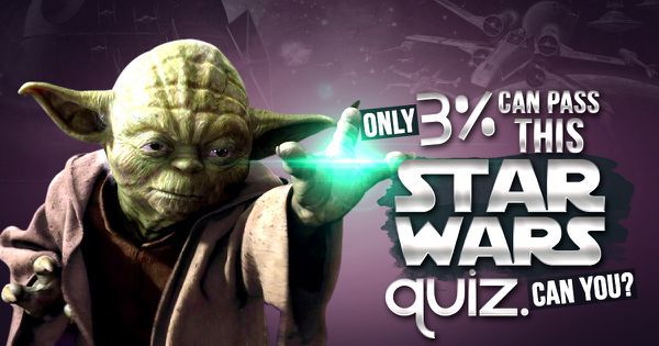 Only 3% Can Pass This Star Wars Quiz. Can you?