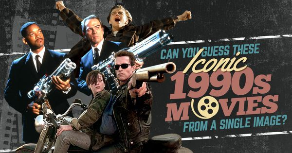 Can You Guess These Iconic 1990s Movies From A Single Image?