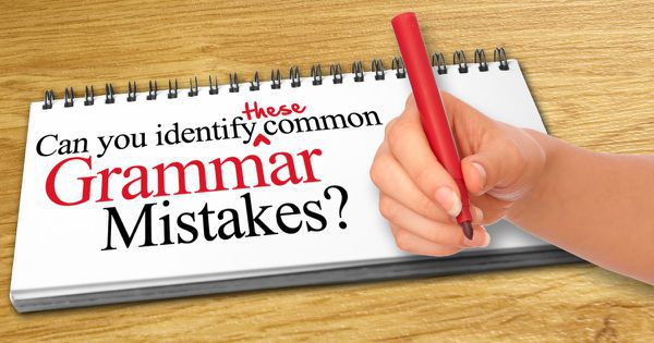 Can You Identify These Common Grammar Mistakes?