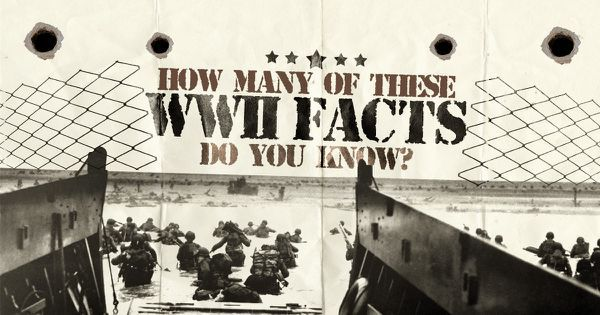 How Many Of These WWII Facts Do You Know?