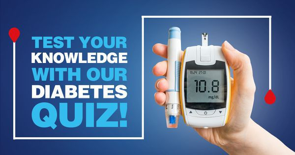 Test Your Knowledge With Our Diabetes Quiz!