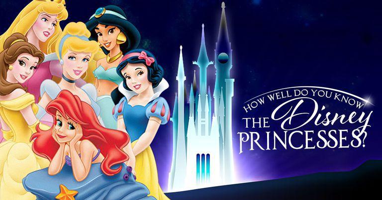 How well do you know the disney princesses