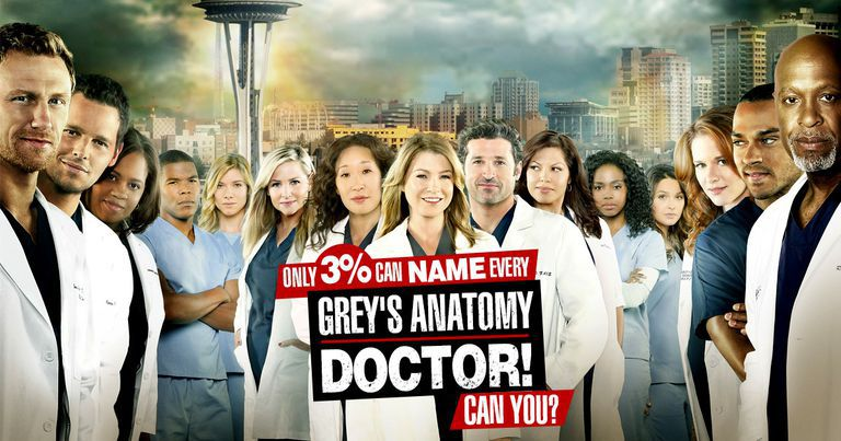 can you name every greys anatomy doctor over the years