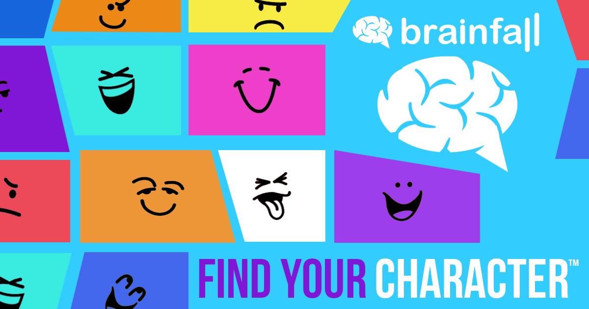 آزمون شخصیتی brain fall