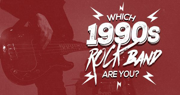 Which 1990s Rock Band Are You?