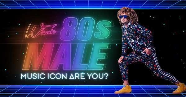 Which '80s Male Music Icon Are You?