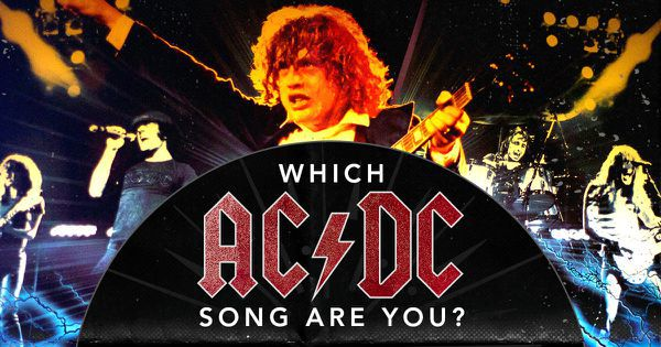 Which AC/DC Song Are You?