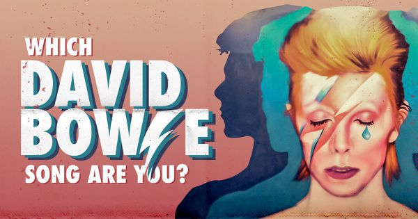 Which David Bowie Song Are You?