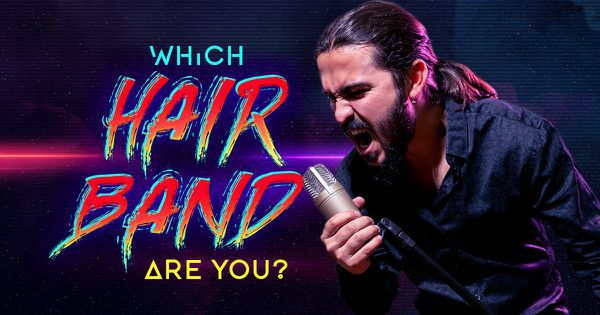 Which Hair Band Are You?