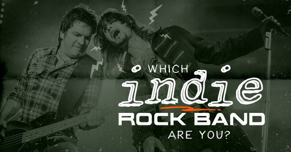 Which Indie Rock Band Are You?