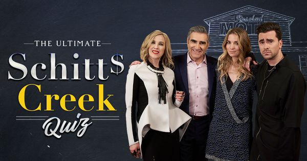 The Ultimate Schitt's Creek Quiz!