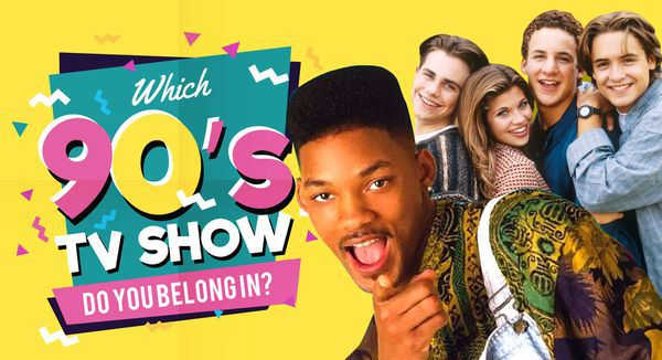 Which of These 90s TV Shows Do You Belong in?